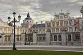 The Palace of Aranjuez, main facade, Madrid, Spain — Stok fotoğraf
