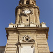 Cathedral of La Seo, in the famous Plaza del Pilar, Zaragoza, Sp — Stock Photo