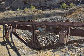 Manufactures machinery abandoned coal processing — Stockfoto
