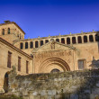 Collegiate Church of Santa Juliana in Santillana del Mar, Spain — Foto de Stock