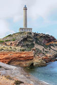 Cabo de Palos Lighthouse (1862) Cartagena, Spain — Stock Photo