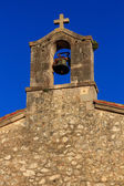 Old church Catholic shrine in San Vicente de la barquera Spain — Stock Photo