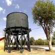 Old tank water to fill steam railway machines — Stockfoto #27834315