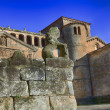 Stock Photo: Collegiate Church of SantJulianin Santillandel Mar, Spain
