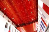 Techo de arquitectura interior de un edificio — Foto de Stock