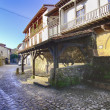 Foto Stock: Streets typical of old world heritage village of Santillandel