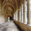 图库照片: Cathedral and cloister of Our Lady of Assumption in Santande