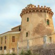 The home of the Torre de la Horadada 1880 in the town of Pilar d — Stock Photo