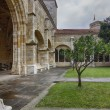 Cathedral and cloister of Our Lady of the Assumption in Santande — Стоковая фотография