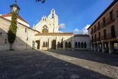 Baroque church of San Francisco in Palencia Spain — Stock Photo
