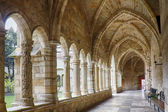 Cathedral and cloister of Our Lady of the Assumption in Santande — Stock Photo