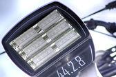 Modern Street lamp using high intensity led — Stock Photo