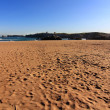 Small sandy beach in North Sea — Stock Photo