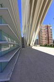 OVIEDO, SPAIN - JULY 07: Exhibition center Ciudad de Oviedo in A — Stock Photo