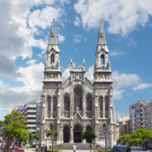 Cathedral of aviles in Asturias, Spain — Foto Stock