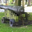 Old bronze cannon — Stock fotografie