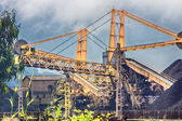 Escavadeira enorme de carvão em uma mina — Fotografia Stock