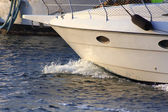 Proa de uma navio à vela — Fotografia Stock