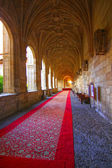 Luxurious medieval castle Hall — Stock Photo