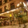 Abstract atmosphere of bars and people walking at night — Stock fotografie #37373113