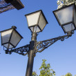 Nice old style street lamp — Stock Photo