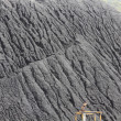 Mountains of coal in a mine — Stock Photo