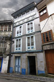 Old houses of the old town in Cudillero, Spain, fishing village — Foto Stock