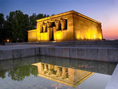 Egyptian Temple of Debod in Madrid, Spain — Photo