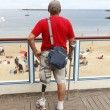 Foto de Stock  : Person with artificial leg