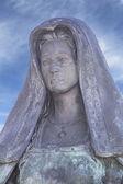 Sculpture of St. Teresa of Jesus — Stock Photo