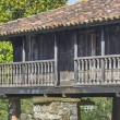 Stock Photo: Horreo , Granary, typical Galicihouse