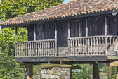 Horreo , Granary, typical Galician house — Stock Photo