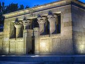 Templo egípcio de debod em madrid, Espanha — Fotografia Stock