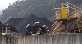矿井中煤的巨大 excavator — 图库照片