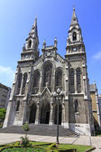 Cathedral of aviles in Asturias, Spain — Stockfoto