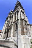 Cathedral of aviles in Asturias, Spain — Stok fotoğraf
