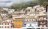 明るい色のフィッシャーのこの観光村の典型的な家します。 — ストック写真