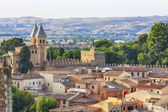 General view of the famous town of Toledo, Spain — Stock Photo