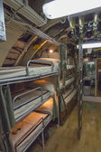 古いの海底船員の二段ベッド — ストック写真