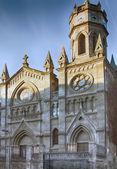 Chiesa cattolica in spagna città di palencia — Foto Stock