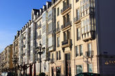 Old houses in the city of Santander in Spain — Stock Photo