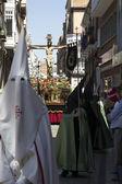 VALLADOLID, SPAIN - APRIL 17: Easter week (Semana Santa), Nazare — Stock Photo