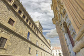 Old buildings of the town of Tordesillas, Spain — Stock Photo