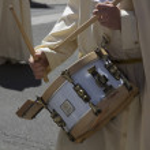 VALLADOLID, SPAIN - APRIL 17: Easter week (Semana Santa), Nazare — Stock Photo #45431757