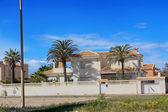 Houses in a small village in the region of Murcia, Spain — Stock Photo