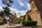 Parks and gardens of the city of Alcala de Henares, Spain — Stock Photo