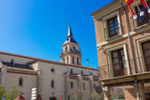 Church steeple in Alcala de Henares, Spain — Stock Photo