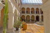 Kloster hof, santa maria del henar, segovia, spanien — Stockfoto