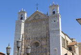 Gotický kostel kláštera san pablo, valladolid, Španělsko — Stock fotografie