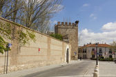 Streets and old buildings of the town of Alcala de Henares, Spai — Stock Photo